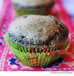 Blue Corn Muffins with Green Chilies- When you bake with blue cornmeal ...