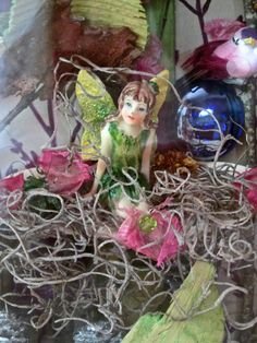 Chloe   Fairy in Enchanted Garden by HealingArtsCreations on Etsy, $30.00