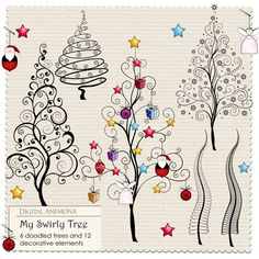 Digital Anemona: Christmas freebie
