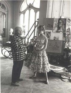 Pablo Picasso & Brigitte Bardot