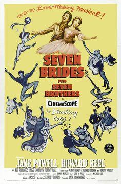 Sete Noivas para Sete Irmãos (Seven Brides for Seven Brothers), 1954.