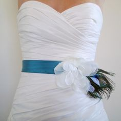 For a teal and black wedding :)