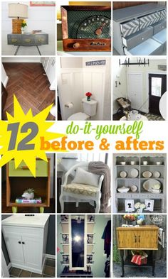 12 DIY Before and Af