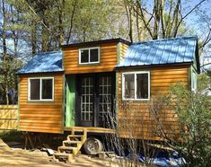 Adorable - move it around the yard to follow the sun (or shade) and make a portable porch/deck!)   Millerwurst Tiny House Making Progress
