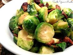 South Your Mouth: Brussels Sprouts with Bacon