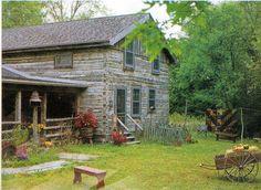 Great log cabin