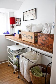 laundry room storage.