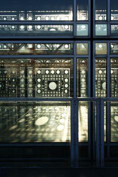 Library Monde Des Arabes, Paris, France. Architect, Jean Nouvelle