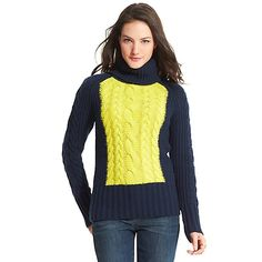 CHUNKY CABLE TURTLENECK from Tommy Hilfiger USA