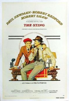 Films with fashion influence - 1973 The Sting poster