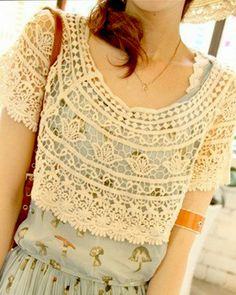 Image of Crochet Bolero