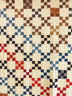 Antique Quilt TOP Handma...