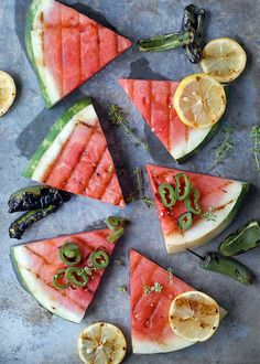 This grilled watermelon is a must-make.