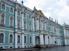 Winter Palace/ Hermitage, St. Petersburg, Russia is one of the most famous art museums in the world