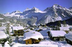 Special Mention: Arosa, Switzerland. ski resort, beauti resort