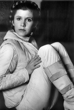 "Carrie Fisher ""The Empire Strikes Back"""