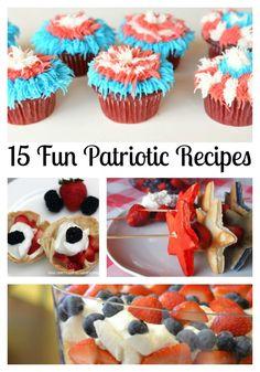 15 Fun Patriotic Recipes