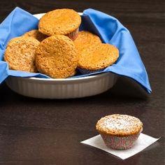"Chai Spiced Vanilla Bean ""Buttermilk"" Muffins--light and healthy wi..."