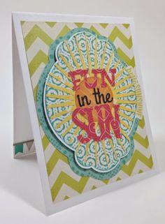 Courtney Lane Designs: Fun in the Sun card