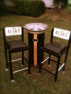 Bistro Set by me--Rebellious Relics girl!