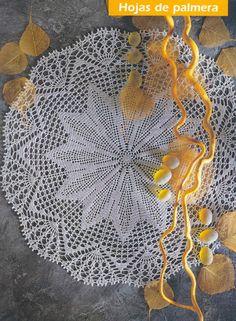 Tablecloths - Crochet Knitting Handicraft