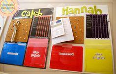 Organization Homework Posters