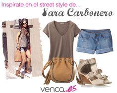 Nos inspiramos en el estilo de Sara Carbonero para crear este look casual & sexy a la vez :)