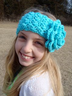 Crochet a Tangled Headwrap! A perfect accessory for any girl, 0 to 99.