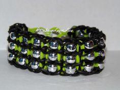 Triple Bead Rainbow Loom Bracelet