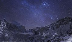 Yosemite Winter Night by Wally Pacholka (according to the tag taken December 25th, 2012)
