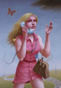The Art of Alex Gross - Paintings