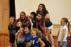 The Cast of Oliver! Berkshire Theatre Group's 7th Annual Children's Theatre Production. Photo by Abby LePage.