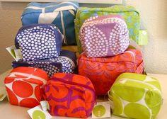 SEE designs silk screened zip bags ...large $25, small $20