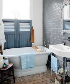 Photo: Caroline Mardon/GAP Interiors | thisoldhouse.com | from 20 Budget-Friendly Bath Ideas