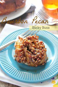 Bourbon and Pecan Sticky Buns