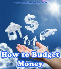 Tips on How to Budget Money #frugal #money #inspireothers