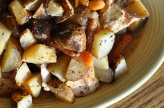 Italian Chicken and Potatoes - Crock Pot