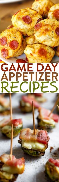These delicious game day appetizer recipes are perfect for the big  game. Serve up some delicious snacks while rooting for your favorite team. #recipes #easyrecipes #funrecipes #deliciousrecipes  #recipeideas #easyrecipeideas #yummyrecipes #snackrecipes #appetizers