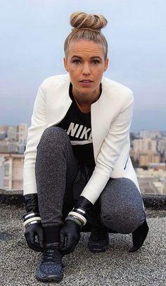 Head to toe sportswear perfection. #style #fashion #sportswear #nike