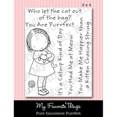 *Pure Innocence PURRFECT Clear Stamps MFT