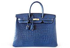 Hermes Croc Birkin Bag.....