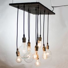 I'm almost certain I can make this DIY-style, sans edison-bulbs
