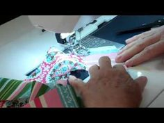 4. Jelly Roll Race Quilt.  Starting you Small Jelly Roll Quilt / Placemat