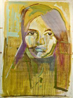 "Saatchi Art Artist Filipa Eyzaguirre; Painting, ""Irani"" #art"