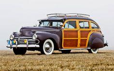 1941 Chrysler Town & Country Barrelback