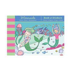 Mudpuppy Mermaids Sticker Book