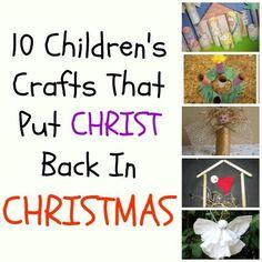 Christmas Christ Crafts