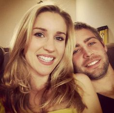 """Paul Walker""""s little brother, Cody Walker, will be in Fast & Furious 8  (pictured here with his girlfriend, Felicia Knox)"""