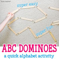 Easy Alphabet Domino