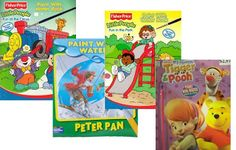 books, fun thing, crafti thing, diy paint, craft idea, craft project, paints, water book, kid stuff